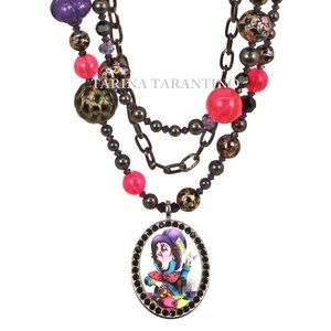 ACID ALICE MAD HATTER COUTURE NECKLACE